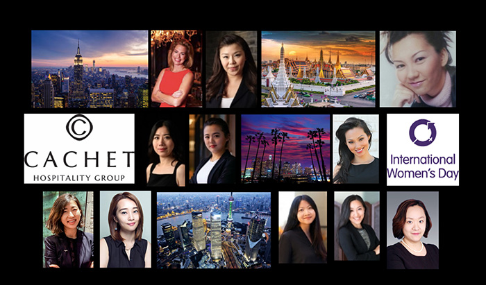 Cachet Hospitality Group Recognizes Women Leaders in the Hospitality Industry